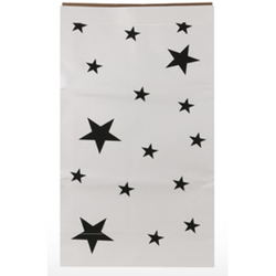 Kraft paper storage bag, stars - Wang's Wonderful World