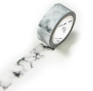 Washi Tape, grey marble - Wang's Wonderful World