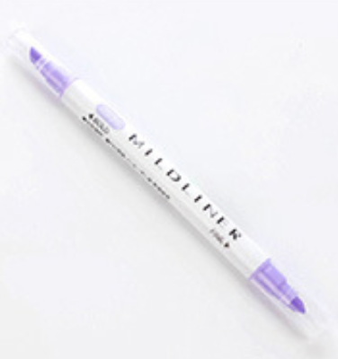 Mildliner highlighter - lavender