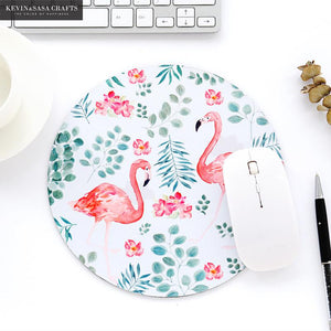 Flamingo mouse mat - Wang's Wonderful World
