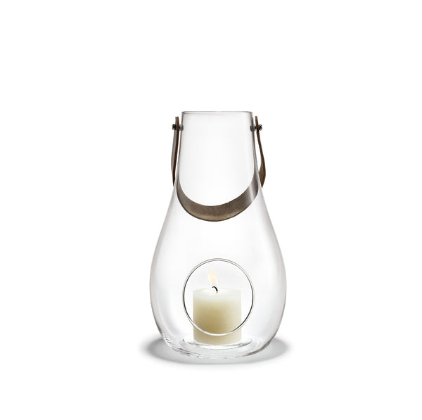 Design with Light Clear Lantern, 17.7""