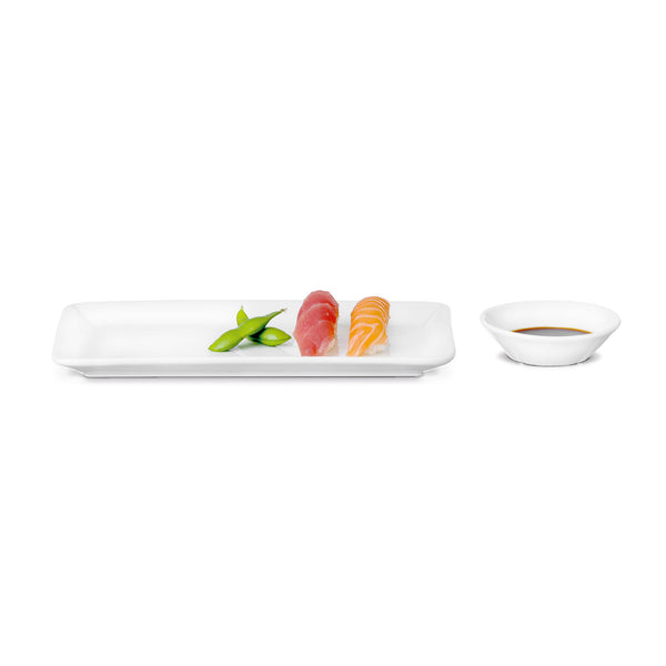 Grand Cru Rectangular Plate and Bowl