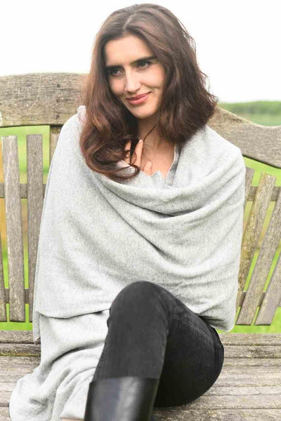 Double Cashmere Wrap (reversible)