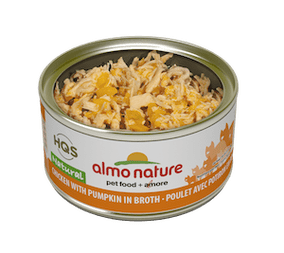 Almo Nature Natural Chicken With Pumpkin In Broth Wet Cat Food