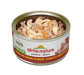 Almo Nature Natural Chicken And Shrimp In Broth Wet Cat Food