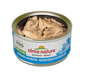 Almo Nature Natural Mackerel In Broth Wet Canned Food