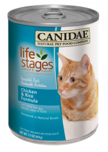 Canidae All Life Stages Chicken and Rice Canned Cat Food