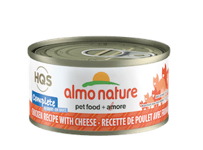 Almo Nature Complete Chicken Recipe With Cheese In Gravy Wet Cat Food