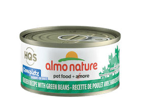 Almo Nature Complete Chicken Recipe With Green Beans In Gravy Wet Cat Food