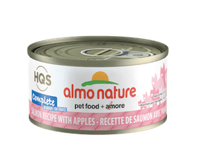 Almo Nature Complete Salmon Recipe With Apple In Gravy Wet Cat Food