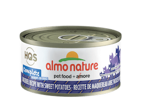 Almo Nature Complete Mackerel Recipe With Sweet Potatoes In Gravy Wet Cat Food
