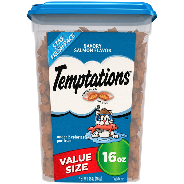 Temptations Savory Salmon Flavor Cat Treats