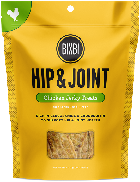 Bixbi Hip and Joint Chicken Breast Jerky Dog Treats
