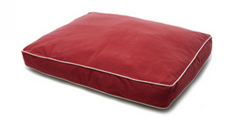 Dog Gone Smart Red Rectangular Dog Bed