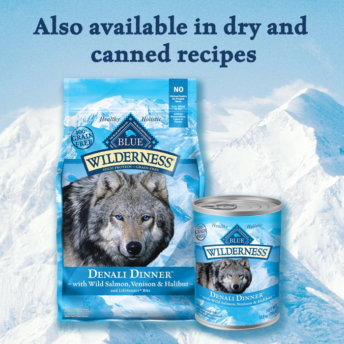 Blue Buffalo Wilderness Grain Free Denali Dinner Biscuits Dog Treats