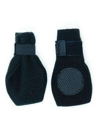 Ethical Pet Lookin' Good! Arctic Fleece Black Dog Boots