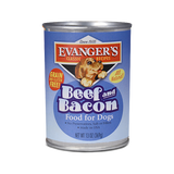 Evanger's Classic Beef and Bacon 12.8oz Can