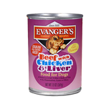 Evanger's Classic Beef with Chicken & Liver 12.8oz Can
