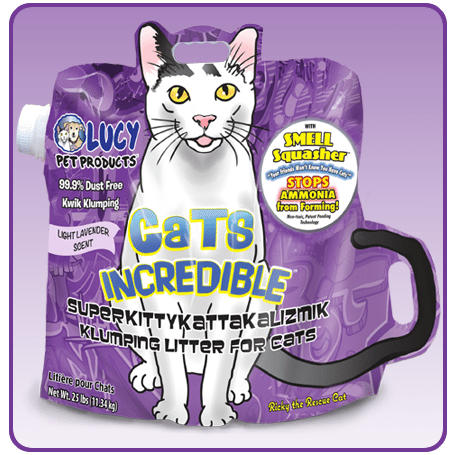 Cats Incredible Lavender Litter