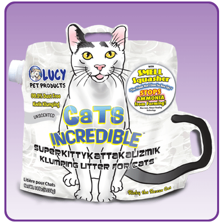 Cats Incredible Unscented Litter