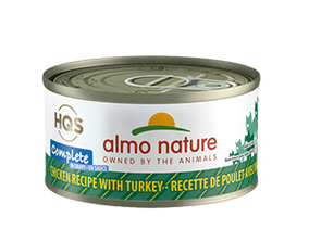Almo Nature Complete Chicken Recipe With Turkey Wet Cat Food