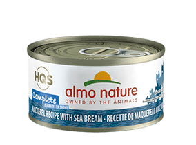 Almo Nature Complete Mackerel Recipe With Sea Bream Wet Cat Food