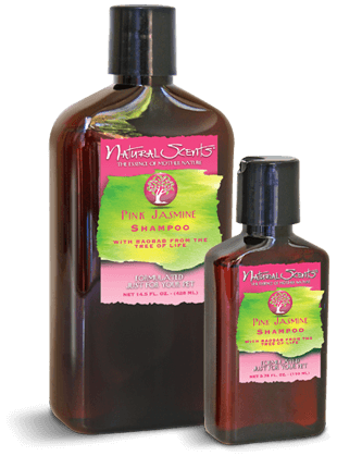 Natural Scents Pink Jasmine Shampoo with Baobab 14.5 fl. oz.