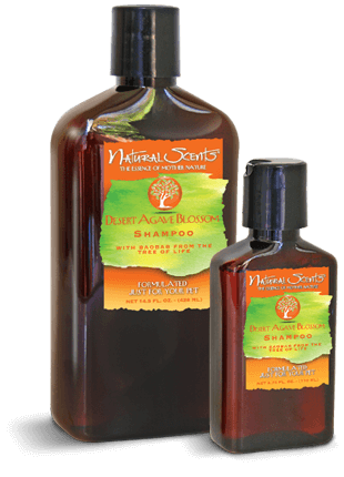 Natural Scents Desert Agave Blossom Shampoo with Baobab14.5 fl. oz.