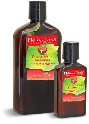 Natural Scents Tuscan Olive Shampoo with Baobab 14.5 fl. oz.