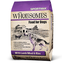 Sportmix Wholesomes Lamb Meal And Rice Dry Dog Food