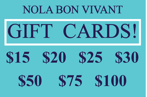A Gift Card for your loved ones! $15,$20,$25,$30,$50,$75,$100