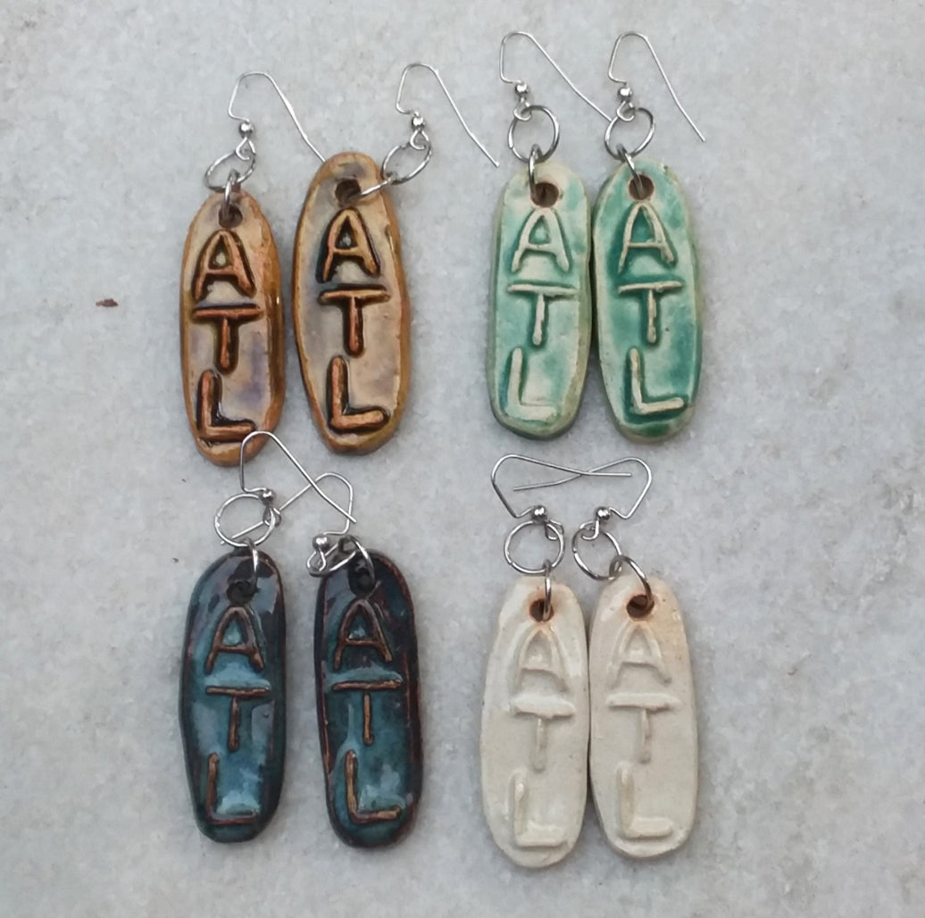 ATL ceramic earrings