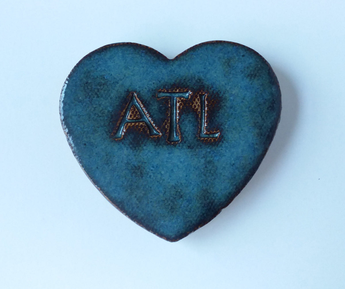 SALE! ATL Ceramic Heart Magnets