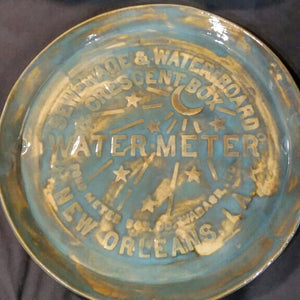 Ceramic Water Meter Large Platter