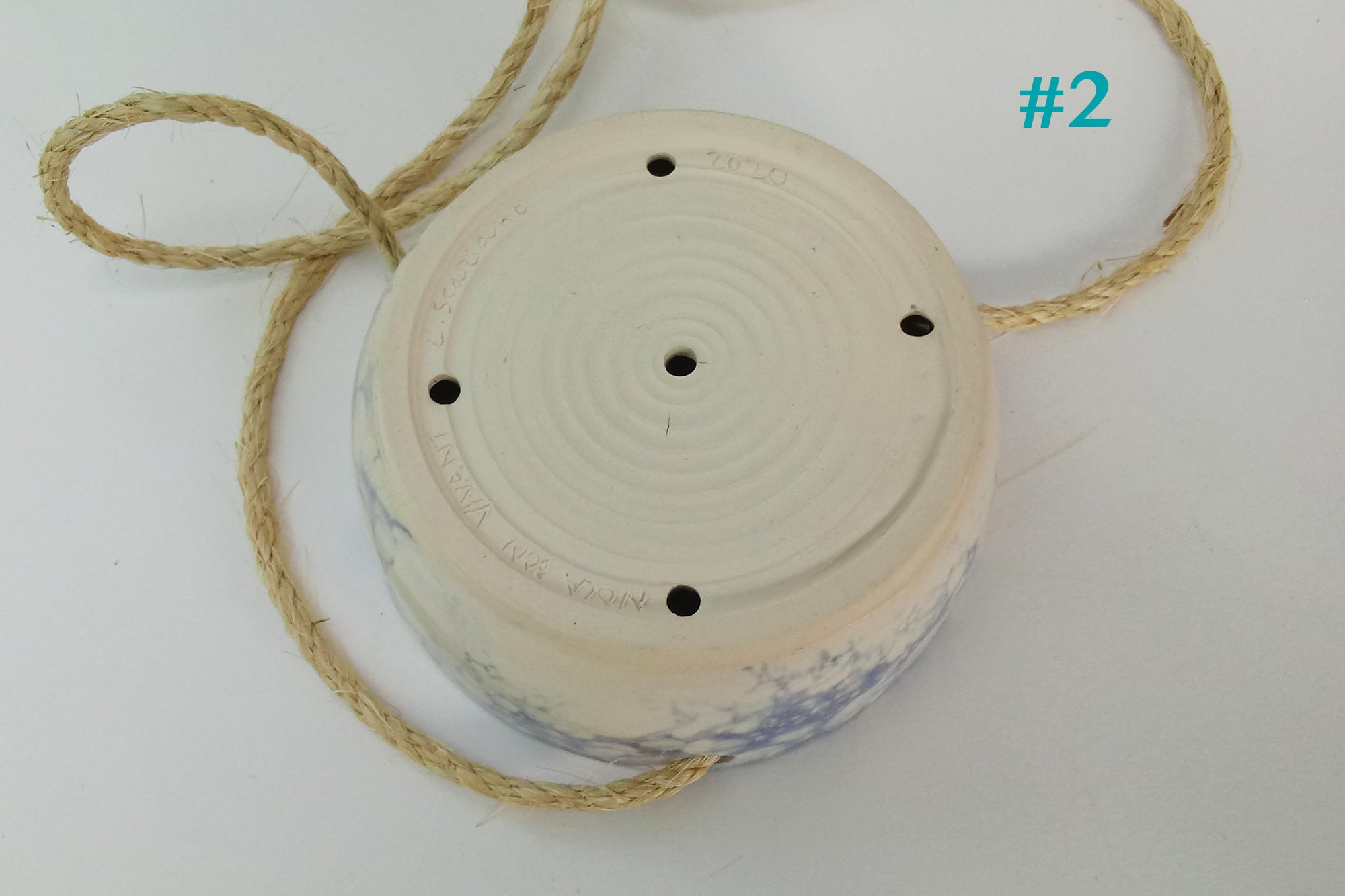 Ceramic Hanging Planters- Bubbles -2