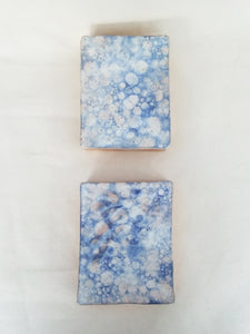 Ceramic Wall Box- Blue Bubbles