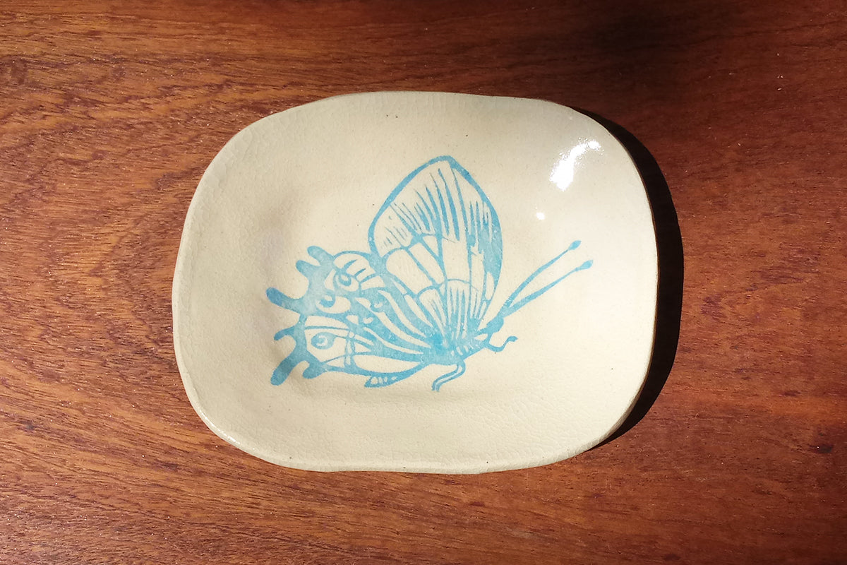 Ceramic Dish- Butterfly