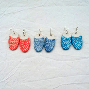 Earrings - Mermaid/Fish Scales
