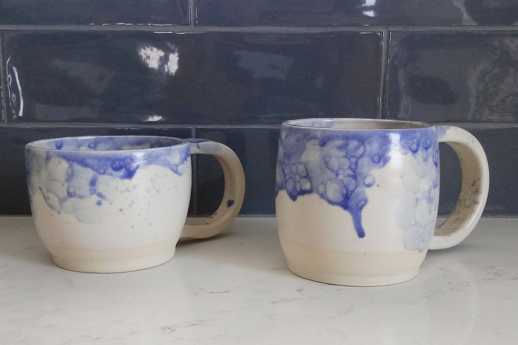 Ceramic Mugs- Bubbles