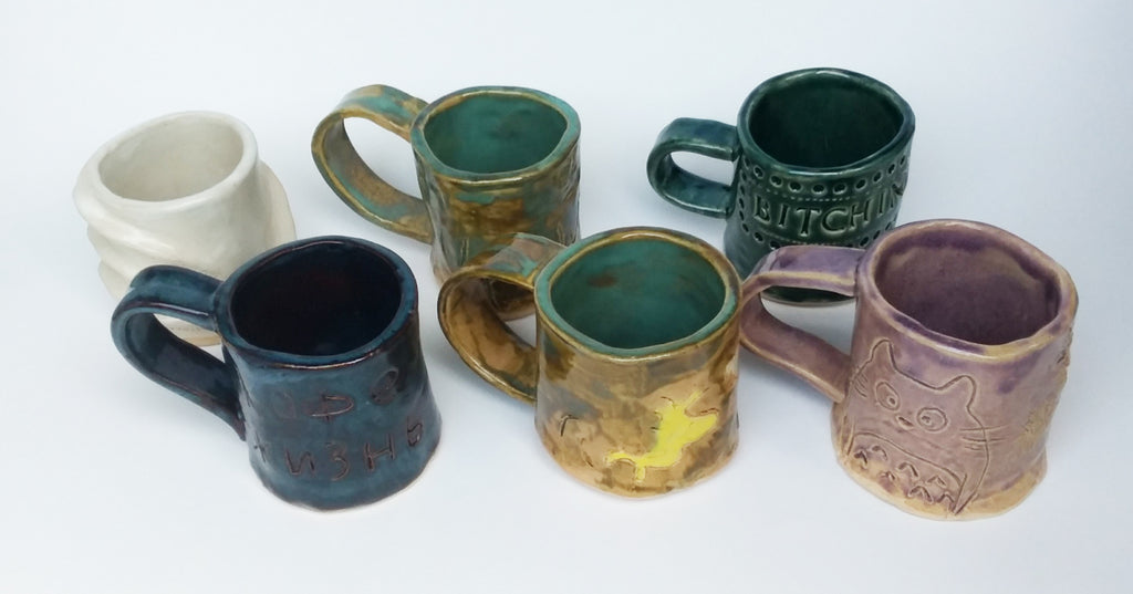 SOLD OUT!! Make a Mug Workshop. Sat. 1/18  1:30-3:30pm at Petite Rouge Cafe.