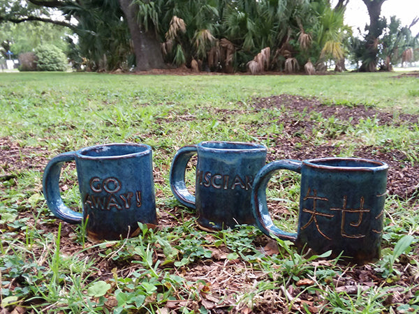 Make a Mug Workshop. Sun 7/28/2019 1-3pm at Petite Rouge Cafe.