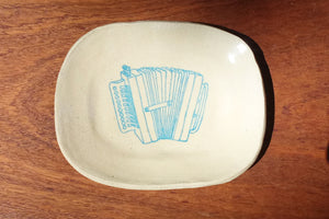 Ceramic Dish- Accordion