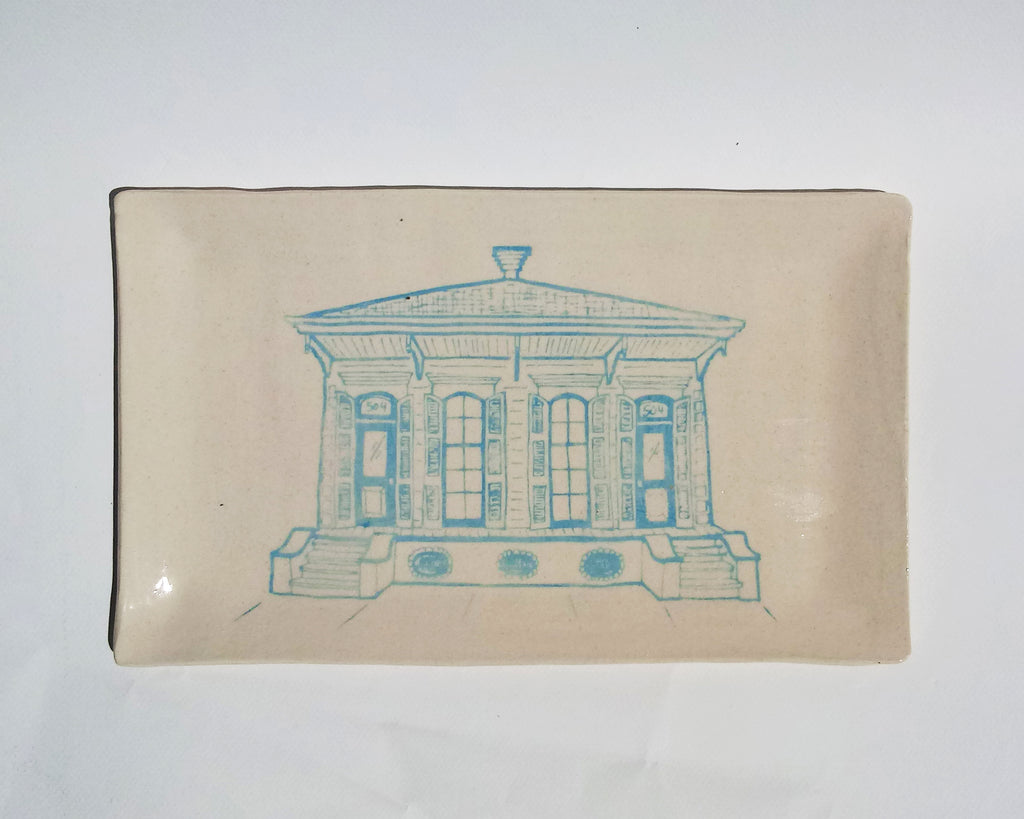 Ceramic Platter- Shotgun House