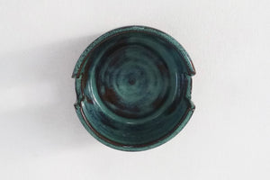 Ceramic Sponge Holder- Royal Green