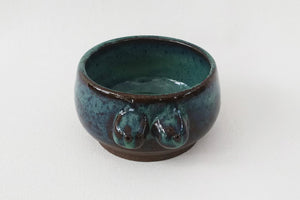 Boob Bowl / Tatas Teacup- Royal Green