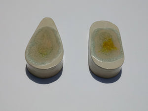 Ceramic & Terrazzo Wall Vases- Teardrop and Pillbox