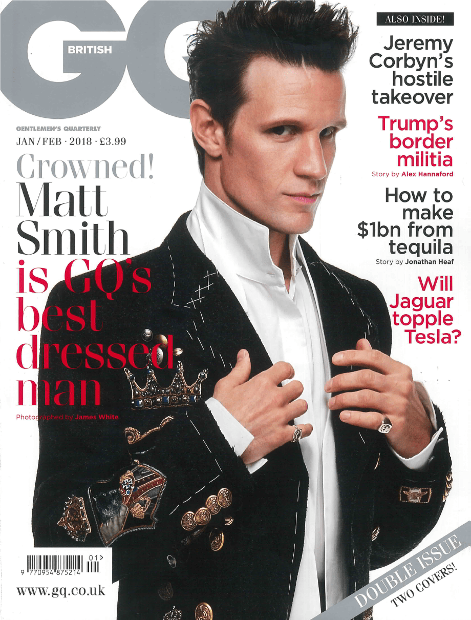 Morris Richardson's Feature in GQ Magazine