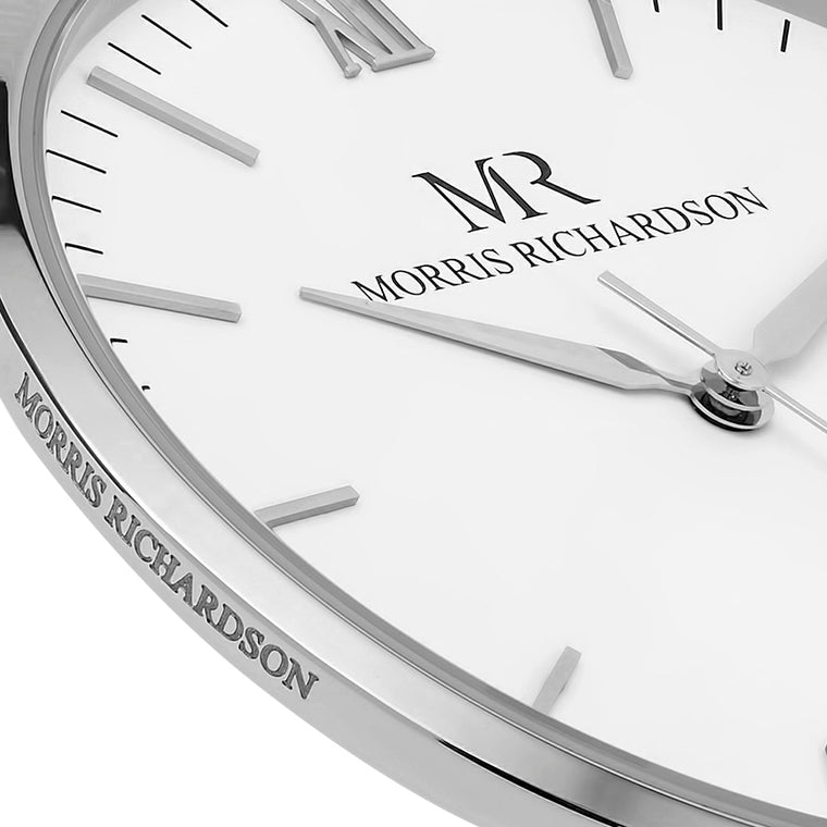 Mens Silver Watch Case Detail - Morris Richardson