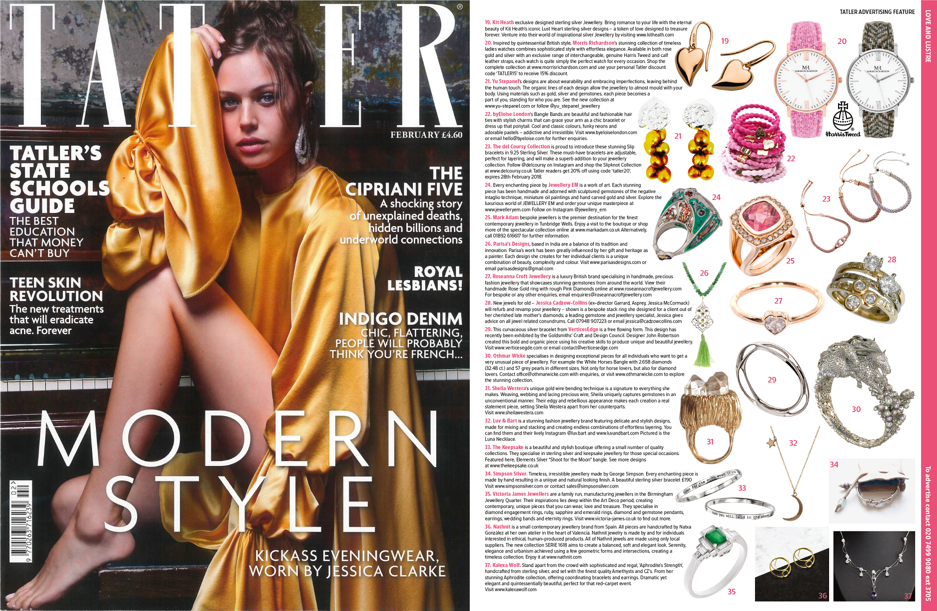 Tatler Magazine Feature | Morris Richardson