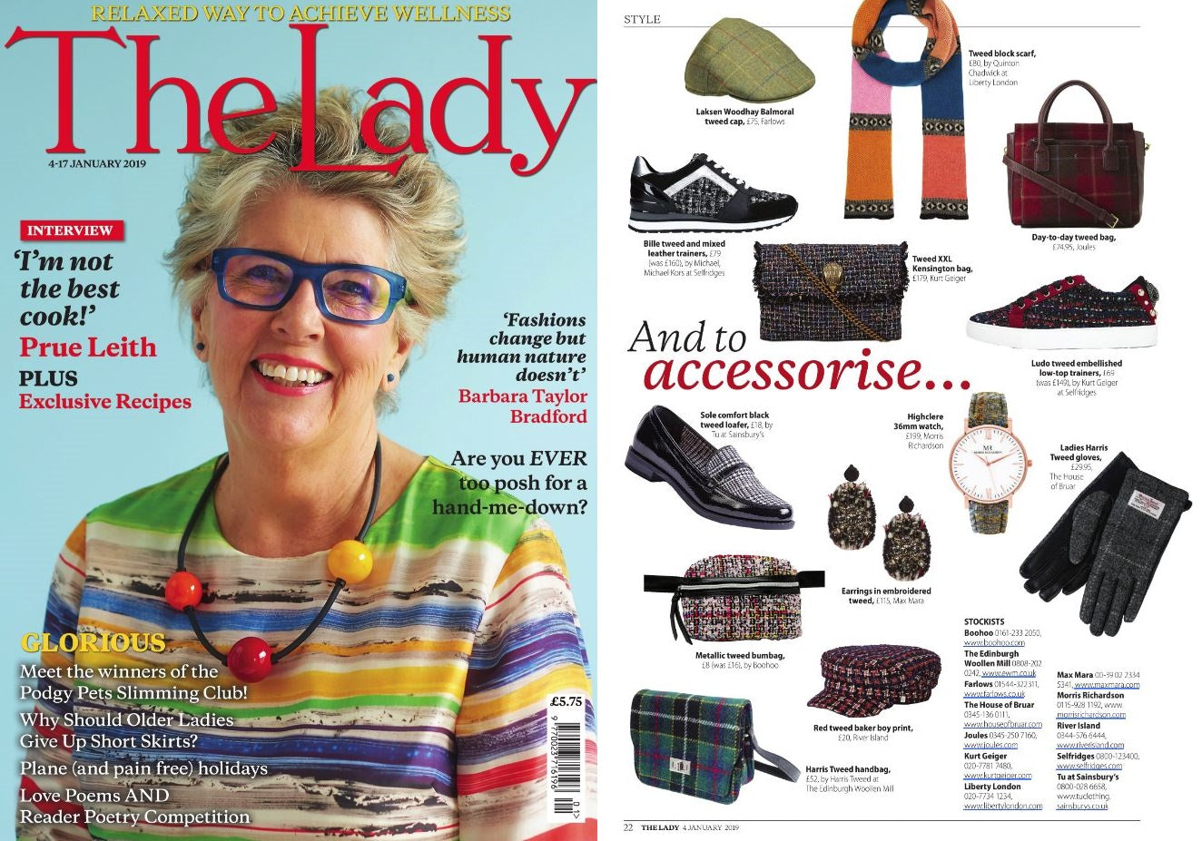 Morris Richardson's Feature in The Lady Magazine